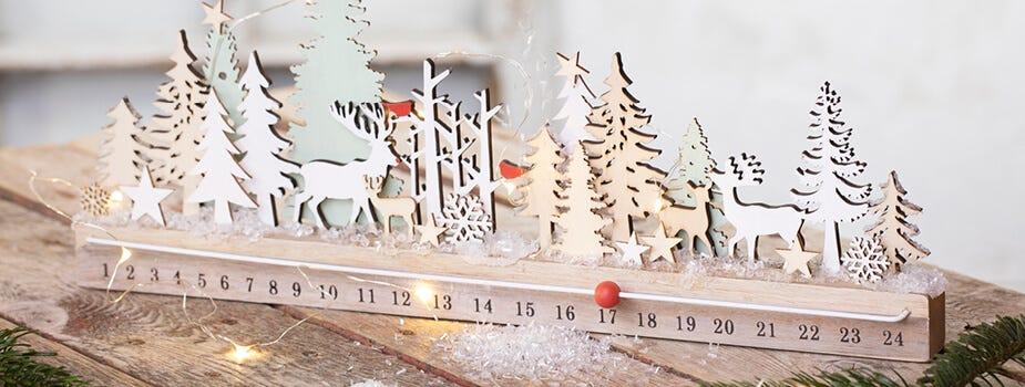 Joulun kynttiläkoristeet