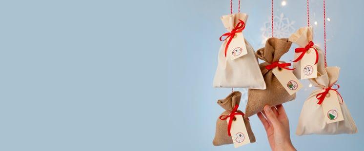 Paketoi joulukalenterilahjat