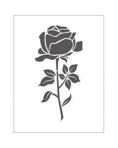 Kohokuviointikansio, ruusu, koko 11x14 cm, paksuus 2 mm, 1 kpl