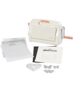 Kuvioleikkuri-kohopainatuslaite -aloituspakkaus, A4, 210x297 mm, 1 set