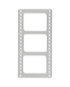 Kuvioterä, Elokuva, koko 64x131 mm, 1 kpl