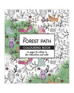 Aikuisten värityskirja, metsäpolku, koko 19,5x23 cm, 64 , 1 kpl