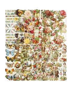 Kiiltokuvat, sekalaiset, 16,5x23,5 cm, 10x3 ark/ 1 pkk