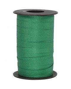 Lahjanauha, Lev: 10 mm, kimalle, vihreä, 100 m/ 1 rll