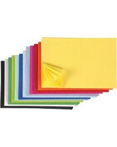 Kennopaperi, 28x17,8 cm, värilajitelma, 72 kpl/ 1 pkk