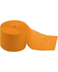 Kreppipaperirulla, Pit. 20 m, Lev: 5 cm, keltainen, 20 rll/ 1 pkk