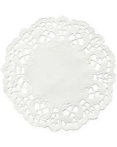Kakkupaperi, pyöreä, halk. 11 cm, 30 kpl/ 1 pkk