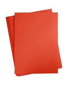 Kartonki, A2, 420x600 mm, 180 g, punainen, 100 ark/ 1 pkk
