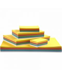 Kevätkartonki, A2,A3,A4,A5,A6, 180 g, värilajitelma, 1800 laj/ 1 pkk