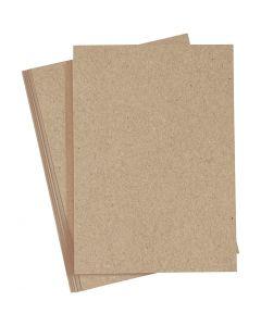 Paperi, A4, 210x297 mm, 120 g, luonnonrusk., 20 kpl/ 1 pkk