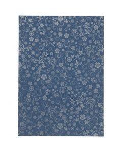Paperi, A4, 210x297 mm, 80 g, sininen, 20 ark/ 1 pkk