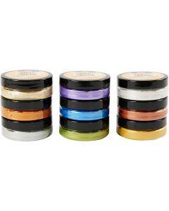Inka Gold- Vahaväri, 9x50 ml/ 1 pkk