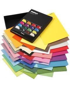 Color Bar-paperilajitelma, A4, 210x297 mm, 100 g, värilajitelma, 16x100 ark/ 1 pkk