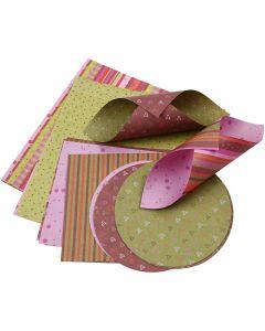 Origamipaperi, 80 g, 900 laj/ 1 pkk