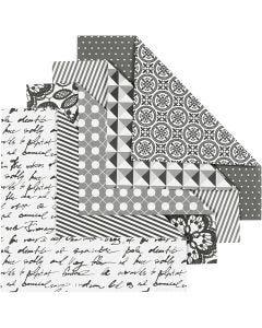 Origamipaperi, koko 15x15 cm, 80 g, 50 laj/ 1 pkk