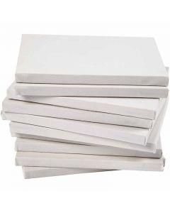 Taulupohjat, syvyys 1,6 cm, A2, koko 42x60 cm, 280 g, valkoinen, 20 kpl/ 1 pkk