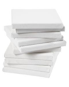 Taulupohjat, koko 20x20 cm, 280 g, valkoinen, 80 kpl/ 1 pkk