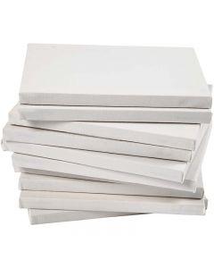 Taulupohjat, koko 18x24 cm, 280 g, valkoinen, 40 kpl/ 1 pkk