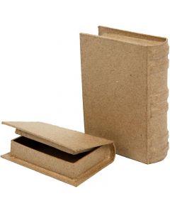 Kirjarasiat, koko 8x11,5x2,5 cm, 2 kpl/ 1 set