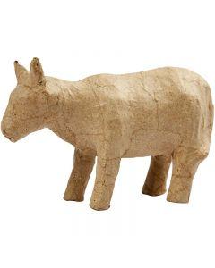 Pahvilehmä, Kork. 8 cm, Pit. 13 cm, 1 kpl