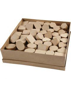 Minirasiat, Kork. 3 cm, halk. 4-6 cm, 6x24 kpl/ 1 pkk