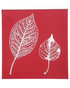 Painantasabloni, lehdet, 20x22 cm, 1 ark