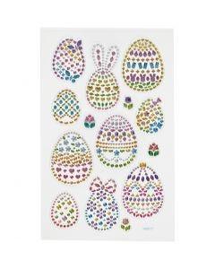 Timanttitarrat, pääsiäismunat, 15x16,5 cm, 1 ark