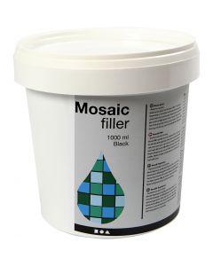 Mosaiikkimassa, musta, 1000 ml/ 1 prk