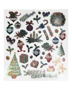 Tarrat, Vanha joulu, 15x16,5 cm, 1 ark