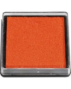 Leimasintyyny, koko 40x40 mm, oranssi, 1 kpl