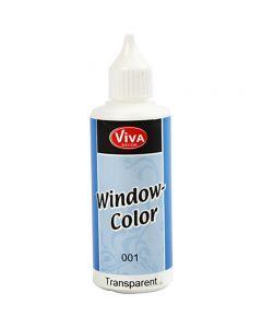 Ikkunaväri, kuulto, 80 ml/ 1 pll
