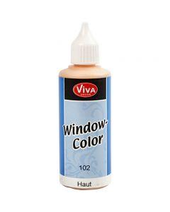 Ikkunaväri, vaalea puuteri, 80 ml/ 1 pll