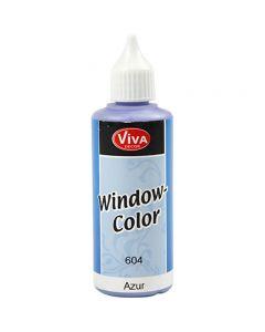 Ikkunaväri, Azure, 80 ml/ 1 pll