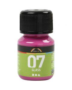 A-Color Lasimaali, pinkki, 30 ml/ 1 pll