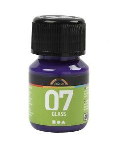 A-Color Lasimaali, punaviol., 30 ml/ 1 pll