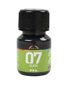 A-Color Lasimaali, musta, 30 ml/ 1 pll
