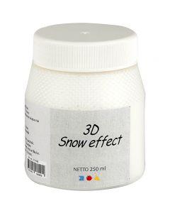 3D lumimassa, valkoinen, 250 ml/ 1 tb