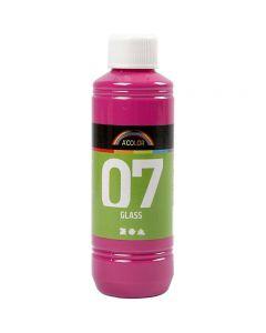 A-Color Lasimaali, pinkki, 250 ml/ 1 pll