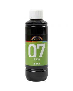 A-Color Lasimaali, musta, 250 ml/ 1 pll