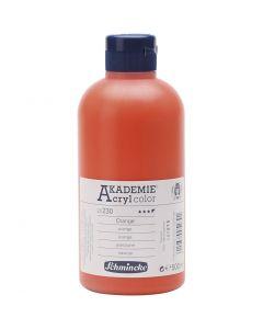 Schmincke AKADEMIE® Akryylimaali, läpikuulto, orange (230), 500 ml/ 1 pll