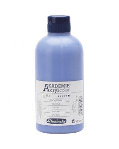 Schmincke AKADEMIE® Akryylimaali, peittävä, royal blue (441), 500 ml/ 1 pll
