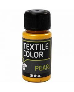 Textile Color Pearl, helmiäinen, keltainen, 50 ml/ 1 pll