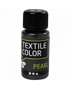 Textile Color Pearl, helmiäinen, harmaa, 50 ml/ 1 pll