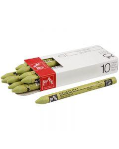 Neocolor 1, Pit. 10 cm, paksuus 8 mm, light olive (245), 10 kpl/ 1 pkk