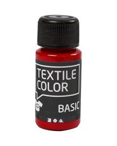 Textile Color, punainen, 50 ml/ 1 pll