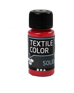 Textile Color Solid, peittävä, punainen, 50 ml/ 1 pll