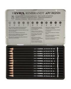Art Design piirustuskynäsetti, 12 kpl/ 1 pkk