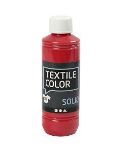 Textile Color Solid, peittävä, punainen, 250 ml/ 1 pll