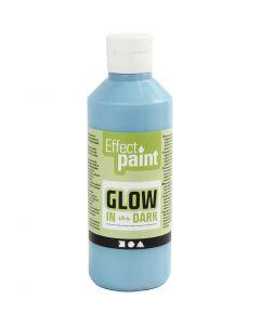 Hohtomaali, fluoresoiva vaaleansininen, 250 ml/ 1 pll
