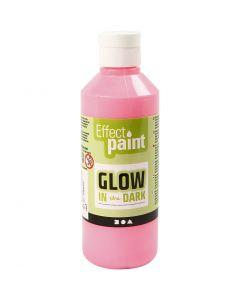 Hohtomaali, fluoresoiva vaaleanpunainen, 250 ml/ 1 pll